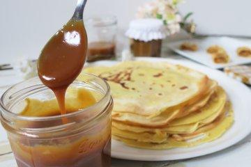 recette crêpe caramel au beurre salé