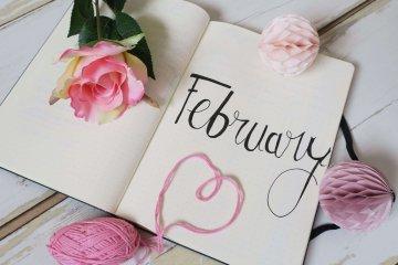 Bullet journal février