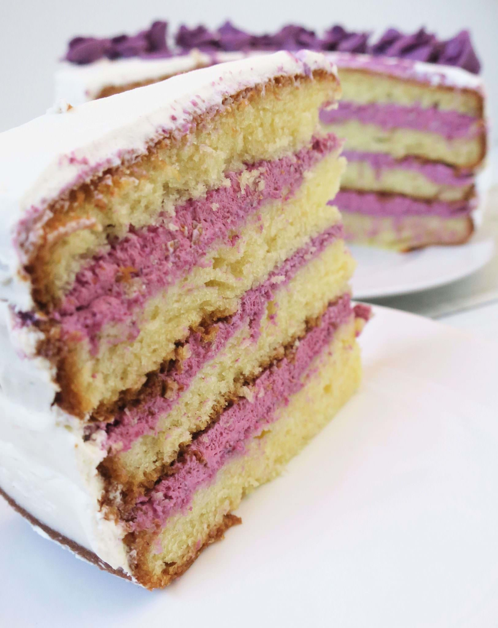 recette layer cake fruits rouges