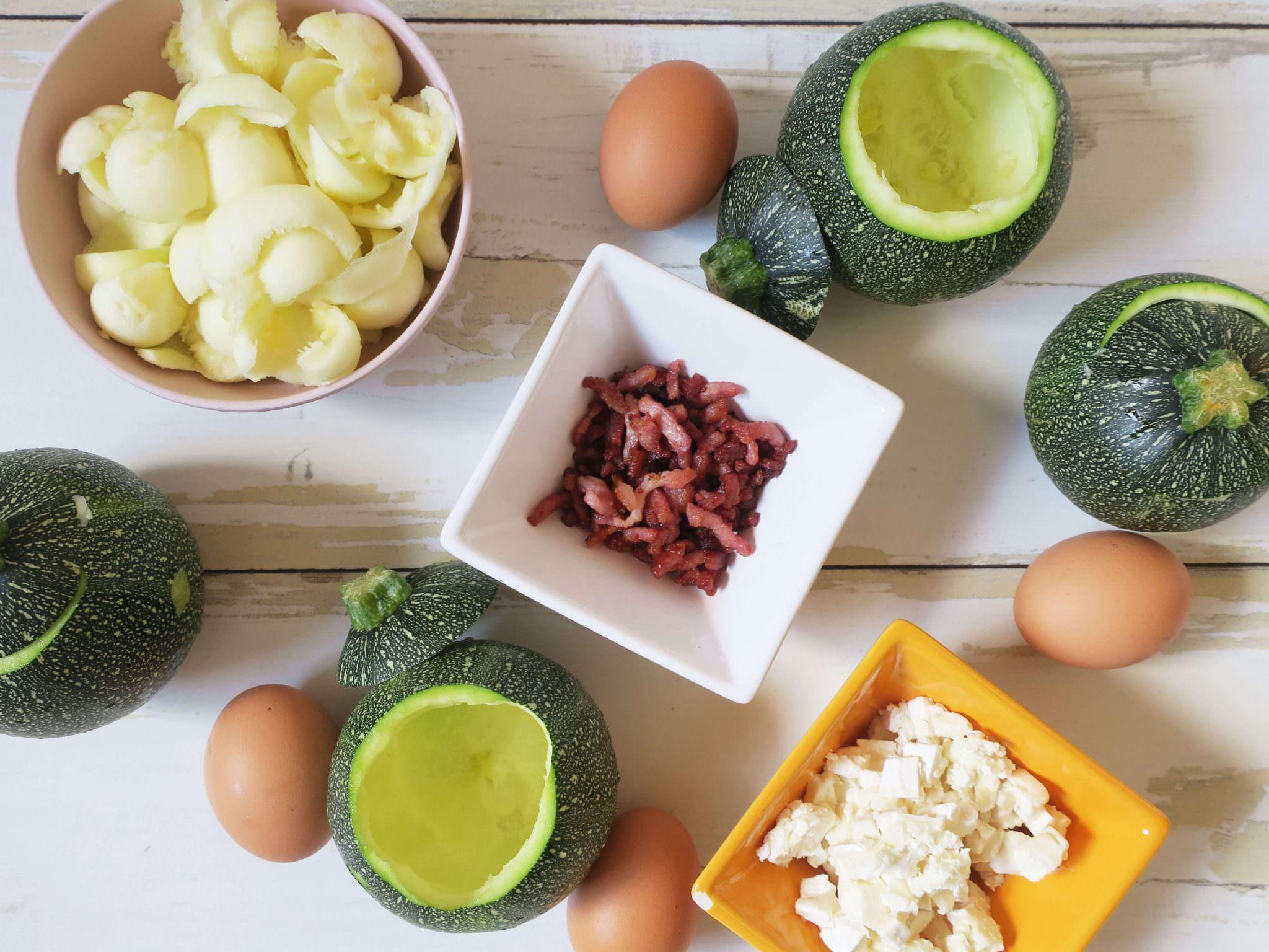 recette courgettes farcies chèvre