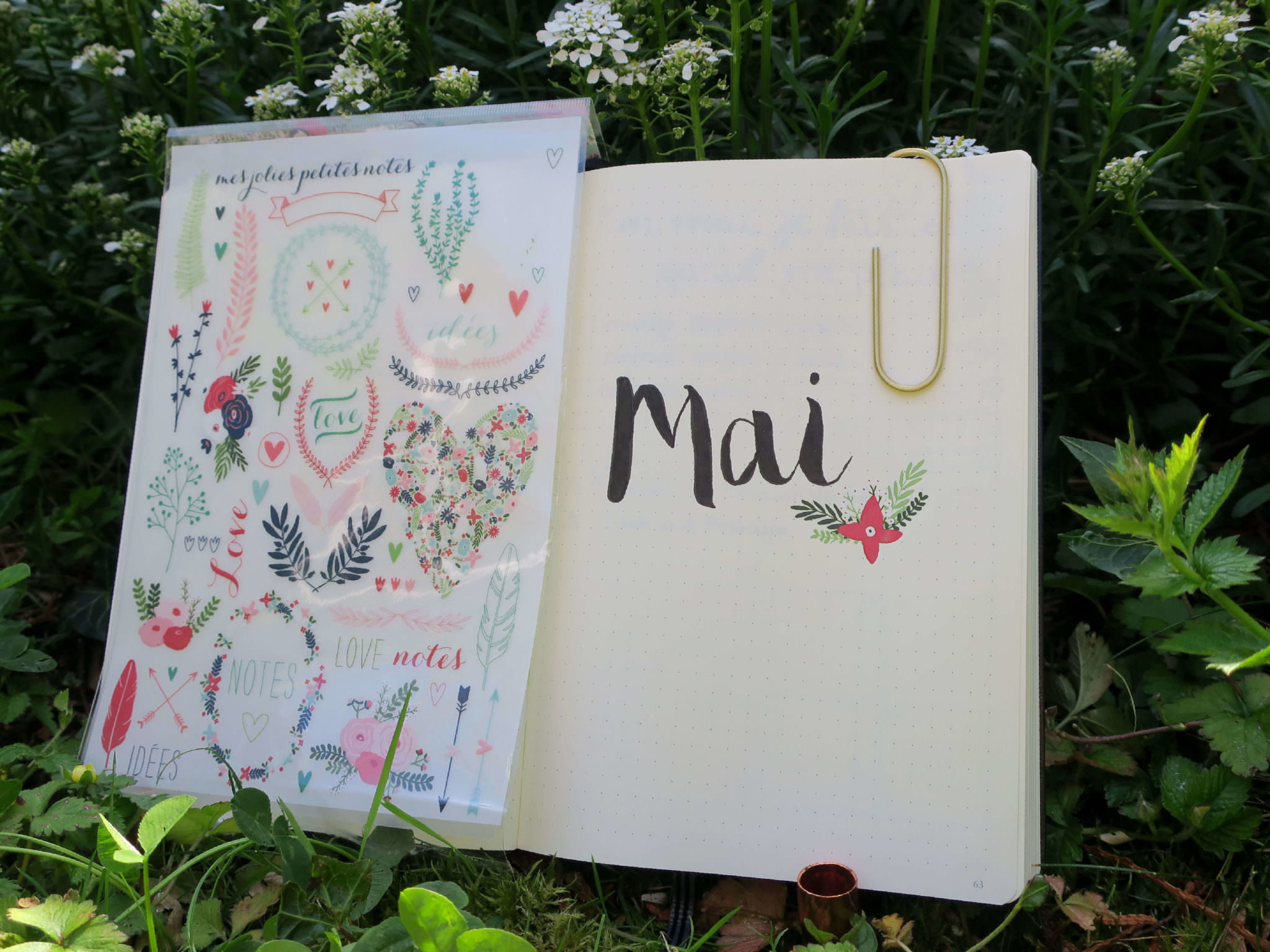 DIY mai bullet journal