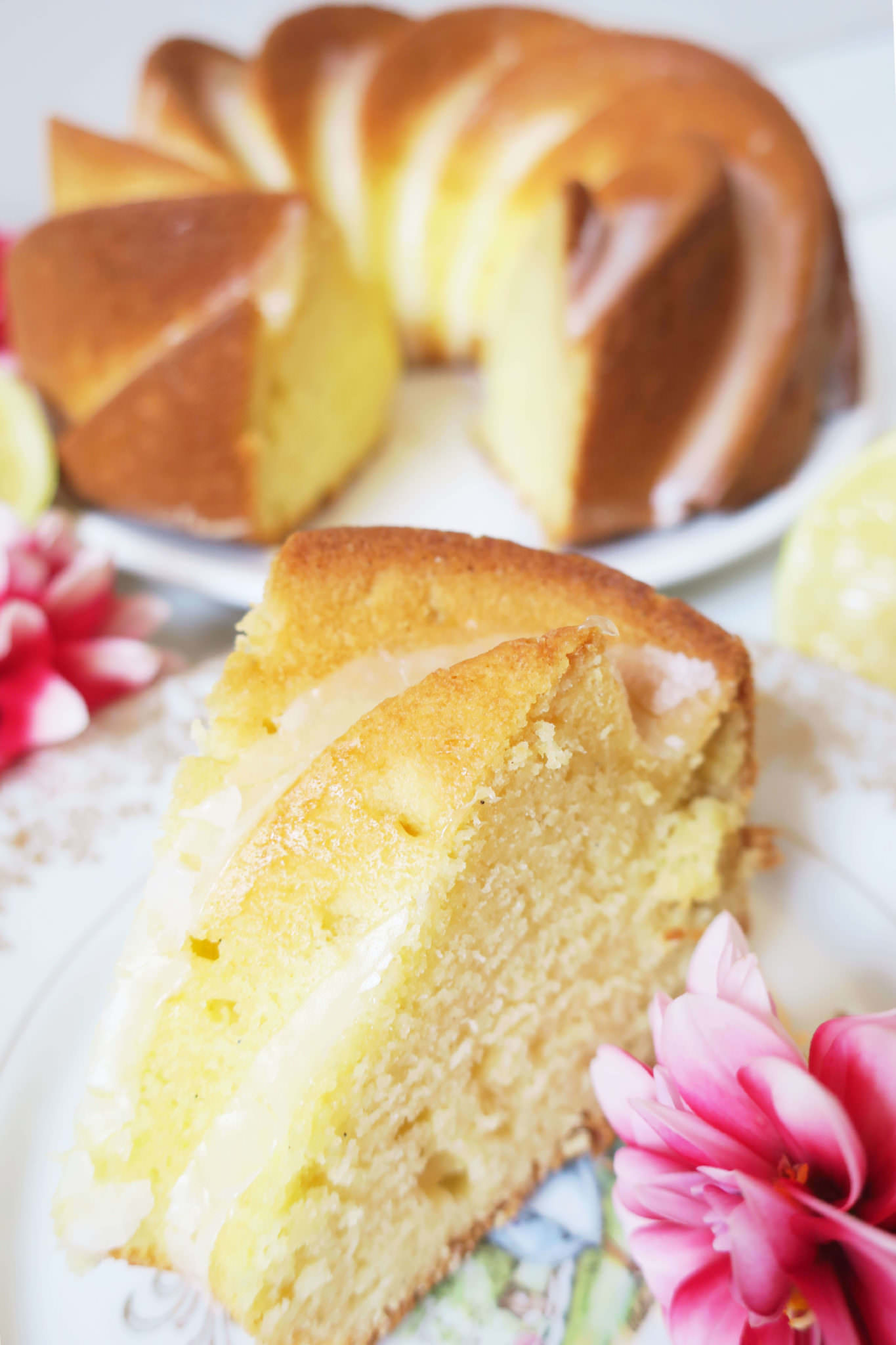 bundt cake vanille citron