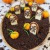 mousse au chocolat halloween