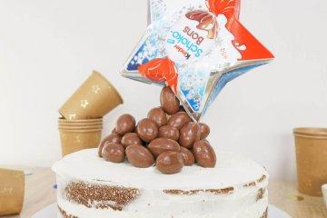 gravity cake schokobons