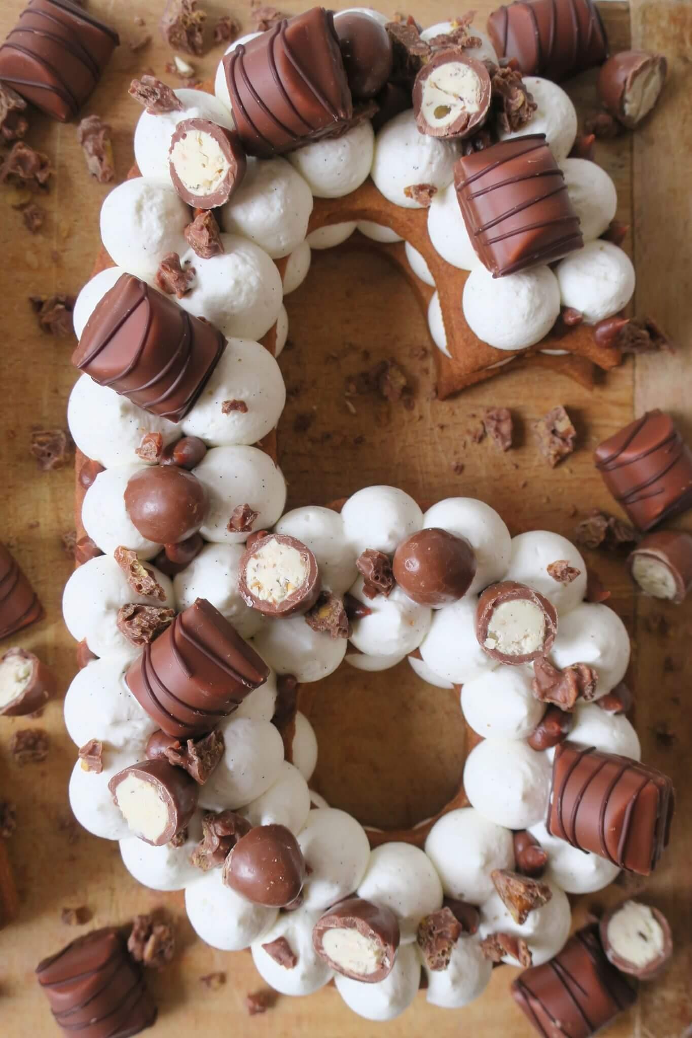recette number cake kinder