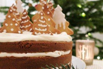 layer cake à la cannelle Noël