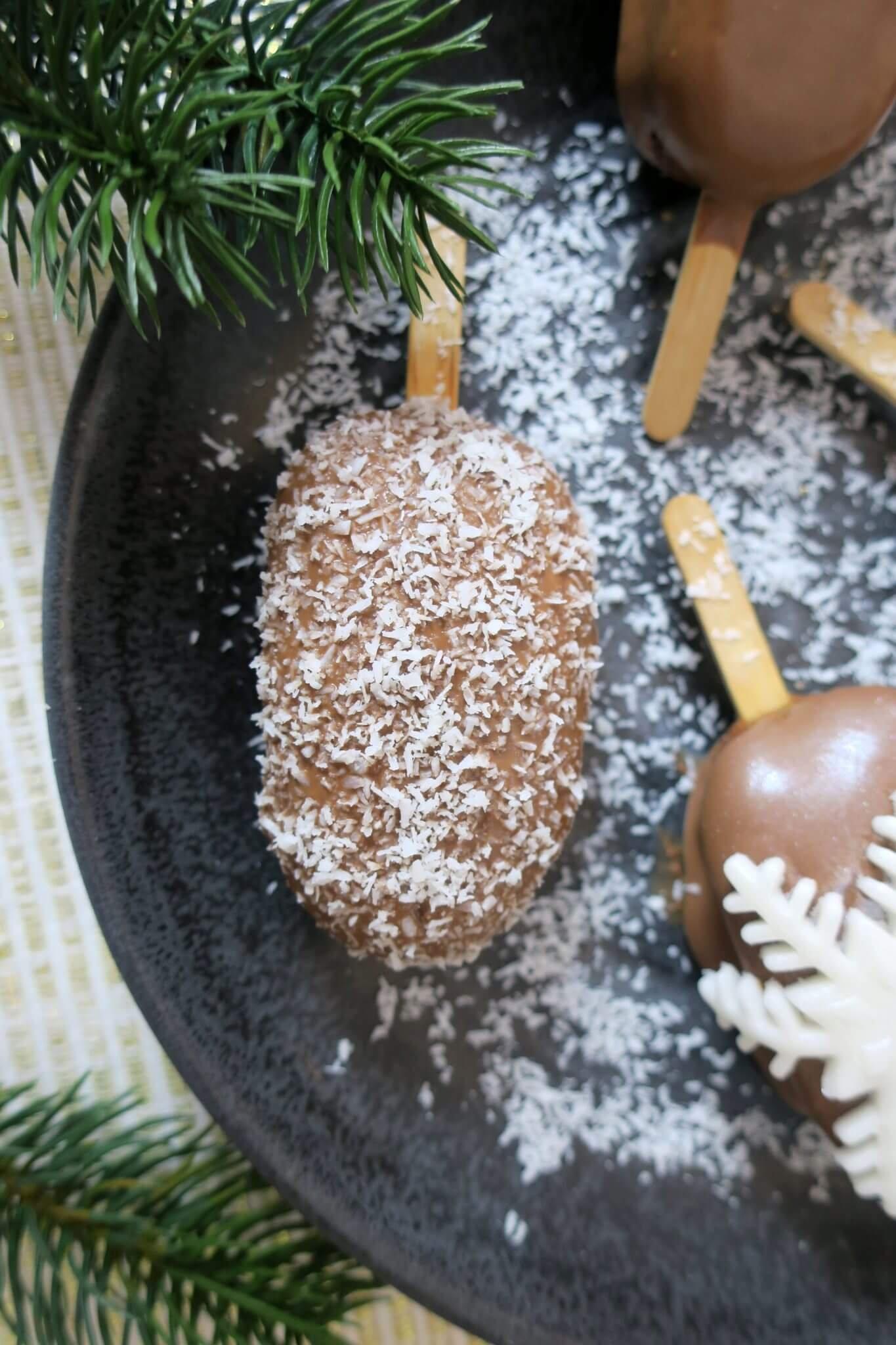 cakesicles de Noël